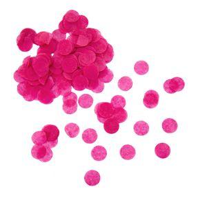 Oblique Unique Papier Konfetti 1000 Stk Tischdeko Geburtstag Party JGA Hochzeit Einschulung - Pink