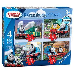 4 in 1 Kinder Puzzle Box | Big World | Ravensburger | Thomas & seine Freunde