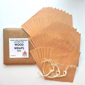 "Masterpiece Wood Wraps ""Buche"" 30er Set"