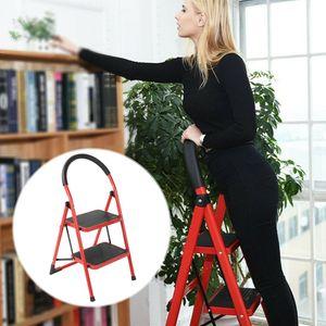 Leiter Stehleiter Klappleiter Haushaltsleiter 150kg 2 Stufen Klapptritt Steh