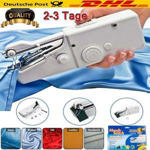 Tragbare Mini Handnähmaschine Assistent Haushalt schnurlose elektrische Stitch