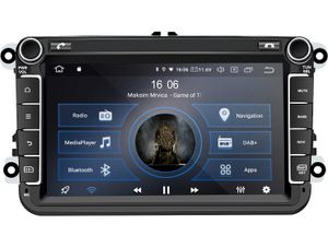 M.I.C. AV8V6-lite Android 10 Autoradio Radio Navigationssystem:DAB+ digitalradio Bluetooth 5.0 Wlan 8 Zoll IPS Bildschirm AHD 2G+32G usb sd gps tuning für VW SKODA SEAT polo golf passat touran t5