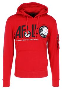 Alpha Industries Apollo 50 Hoodie speed red S