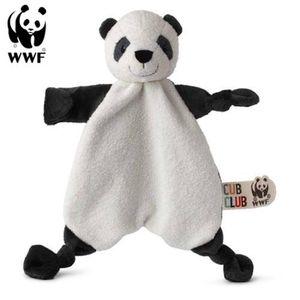 Cub Club - Schmusetuch Panu der Panda (30cm) für Kleinkinder Pandabär Schnuffeltuch