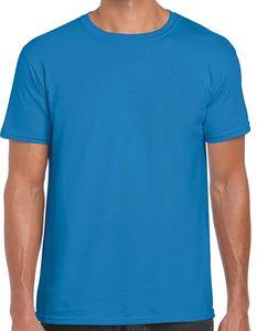 Softstyle Herren T-Shirt - Farbe: Sapphire - Größe: 4XL