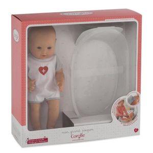 Corolle FRN92 Babypuppe mit Badewanne, geschlechtsneutral, Mädchen, 2 Jahr(e), 36 cm