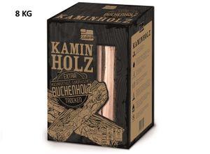 Premium Kaminholz Buchenholz ofenfertig kammergetrocknet gespaltene Buche Holzscheite Feuerholz