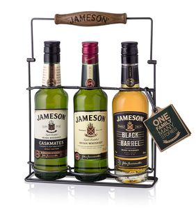Jameson Whiskey Tri Pack 3 x 0,2 Liter, alc. 40 Vol.-%