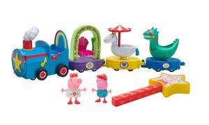 Peppa Pig magische Parade mit 2 Figuren und 7 teils drehenden Teilen PEP0810