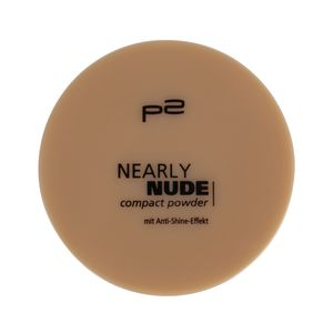 P2 Make-up Teint Puder Nearly Nude Compact Powder 833325, Farbe: 015 caramel beach, 9 g
