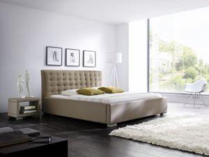 Meise Möbel 297-10-10000 Isa-Comfort Polsterbett ; Farbe: Muddy ; Maße (BxLxH): 100 cm x 200 cm x 105,5 cm