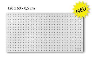 Lochwand aus Holz Ø7 mm 25,4 mm Abstand - 120 x 60 x 0,5 cm