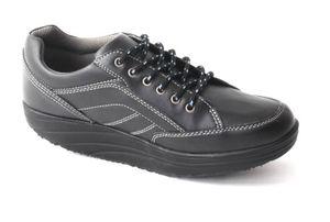 Aktiv Outdoor Schuhe Fitnesschuhe Fitness Sneaker Freizeitschuhe Sportschuhe, Farbe:Schwarz, Größe:39