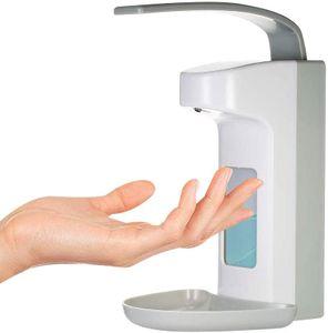 Desinfektionsmittelspender 500ml Wandspender Händedesinfektion Desinfektionsspender Press Dispenser Wandspender Mit Sichtfenster Für Toilette & Bad & Hotel & Küche