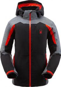Spyder Herren Skijacke Winterjacke wasserdicht PrimaLoft® Copper Jacket GTX grau, Größe:XL