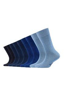 s.Oliver - Tragekomfort x 9 - Junior Socks 9 Paar - blue