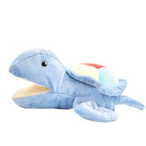 Plüsch-Handpuppenspielzeug Offener beweglicher Mund für Rollenspiel-Geschenkkinder JIN201224030F
