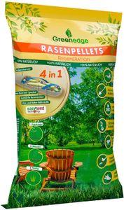 Rasenpellets (dürreresistenter Rasen) - ummantelte Rasensamen Rasensaat - für robusten und widerstandsfähigen Rasen (1,5 KG)