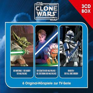 Clone Wars,The - The Clone Wars-3-CD Hörspielbox Vol.1 - CD