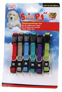 SwissPet Welpenhalsbänder-Set, 6 Stück
