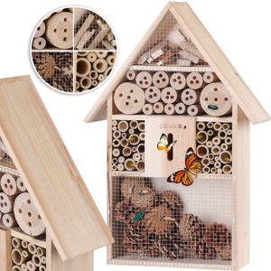 Insektenhotel XXL Insektenhaus Nistkasten Brutkasten Insekten Bienen Hotel 48 cm