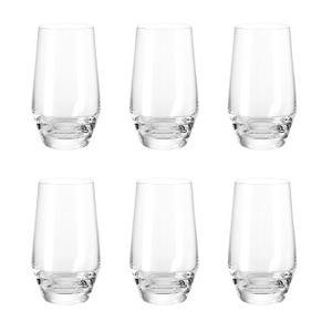 LEONARDO 069558 Puccini Longdrinkbecher, 365 ml, Glas, klar (6er Pack)