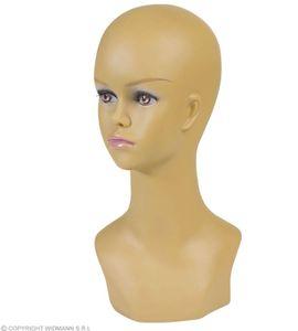 Kopf für Perücken, Perückenkopf Frau 40 cm hoch