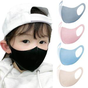 Kinder Schutz Atmungsaktiv Waschbar Anti Tröpfchen Staubdicht Gesicht Mund Maske Für COVID-19 (Rosa)
