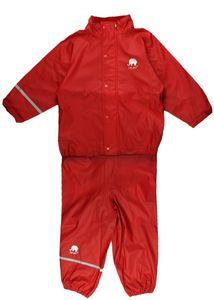CeLaVi - Regenanzug für Kinder - Rot, 110/116