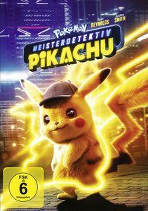 Ryan Reynolds,Justice Smith,Kathryn Newton - Pokémon Meisterdetektiv Pikachu - Digital Video Disc