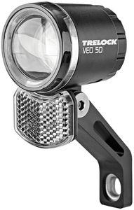 Trelock Scheinwerfer-Set LS435 BIKE-i Go LS 613 Duo Naben Seitendynamo anthrazit