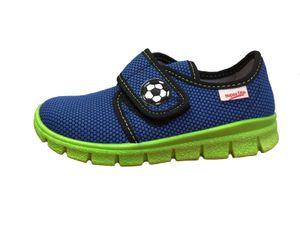 Superfit Kinder Hausschuh 8-00266-88 water / blau kombi , Farben:blau, Kinder Größen:28