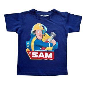 Feuerwehrmann Sam Tshirt, blau, Gr. 92-116 Größe - 92