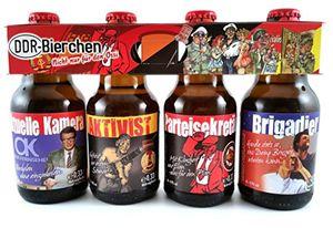 DDR Bier im witzigen Ostalgie 4er Träger Teil 1 (8,33 EUR / l)