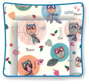 Polini Kids Wickelauflage 77x72 Motiv Owls,1426-1