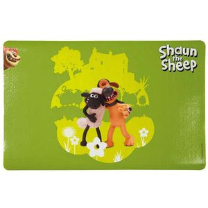 Trixie Napfunterlage Shaun das Schaf - Shaun und Bitzer