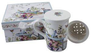 Teeset Garten - 3 tlg., Keramik