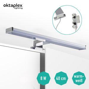 Spiegelleuchte LED BALI S 8W Warmweiß IP44 | Breite 40 cm