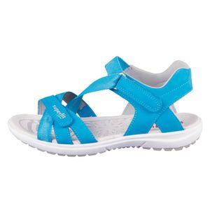 Superfit Mädchen Sandale in Blau, Größe 38