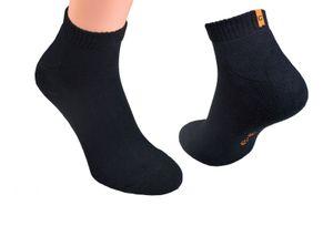 Socken mit Frotteesohle, , Farbe:Sneakers schwarz, Gr. :43/46, Menge:12 Paar