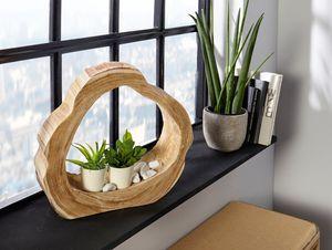 Holzdeko 'Artwork' Holz naturbelassen Unikat Deko,naturbelassene Holz Dekoration
