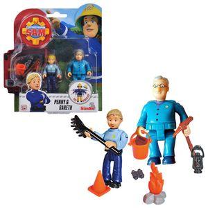 Penny & Gareth   Feuerwehrmann Sam   Spiel Figuren Set   Simba Toys