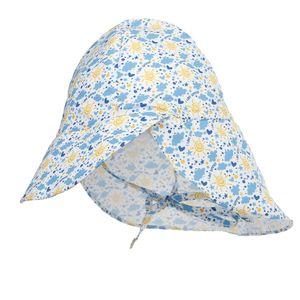 Kinder Summer Sonnenhut Strandhut Verstellbar UV Schutz Baumwolle - Sonne L L. Krabbe