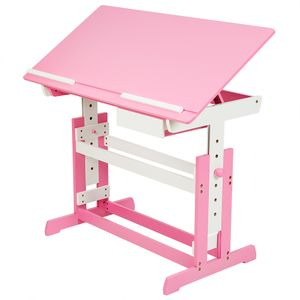 tectake Kinderschreibtisch - pink