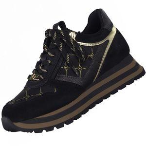 TAMARIS Damen Plateau-Sneaker Schwarz, Schuhgröße:EUR 37
