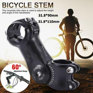 Fahrrad Ahead Vorbau 28.6 mm Alu verstellbar 110mm 31.8mm Lenkerklemmung schwarz