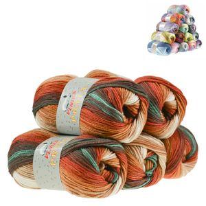 500g Farbverlaufsgarn Pryia Strickwolle Strickgarn, Farbauswahl, Farbe:127 herbstlied