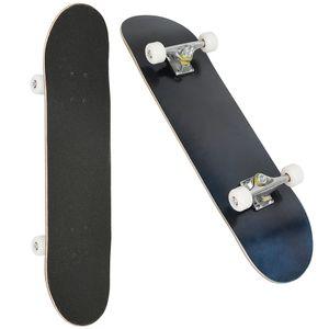 Skateboard Komplettboard 79cm  mit ABEC-9 Kugellager Ahornholz Holzboard für Kinder und Erwachsene