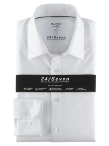 Olymp Bezner Hemd city, Farbe:00 weiss, Größe:40