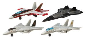 Matchbox Top Gun Skybusters Then & Now 4er Pack